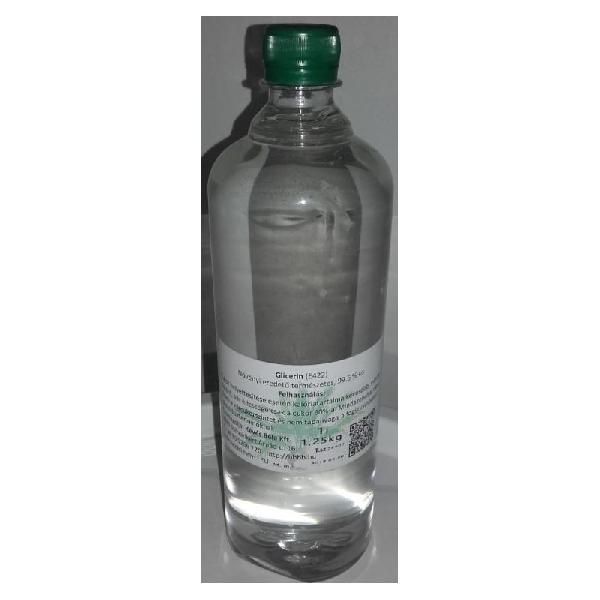 Glicerin 99,5 %-os tisztaságú ,1 l (1,25 kg)